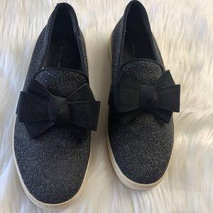 Michael Kors Collection Metallic Leather Sneaker